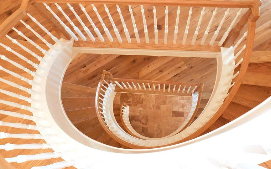 loughnanes curved stairs