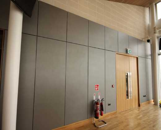 White Oak Fire Rated Door at the Galway Racecourse Tote Building