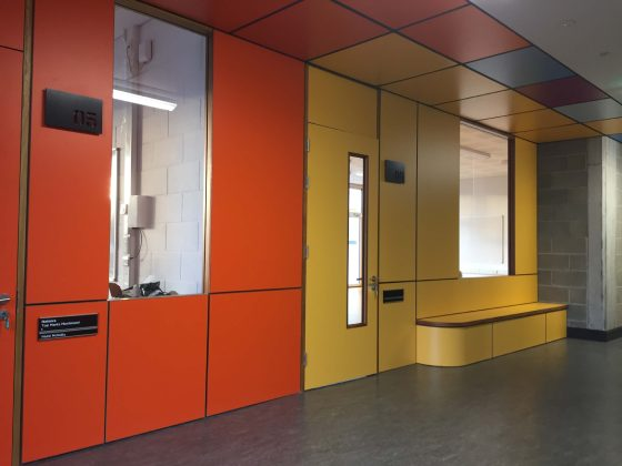 Formica doors