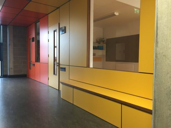 Formica Doors and panelling