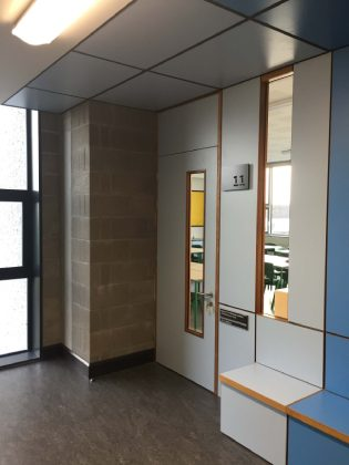 Formcial Glass room door